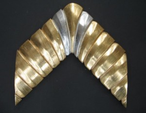 M11-1141 ESQ ORO LATERALES PLATA